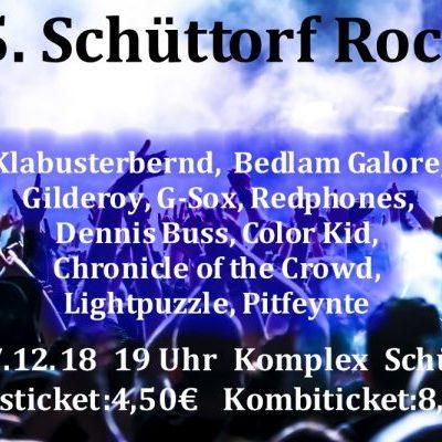 26/27.12.201819:00 Uhr25.Schüttorf Rocks