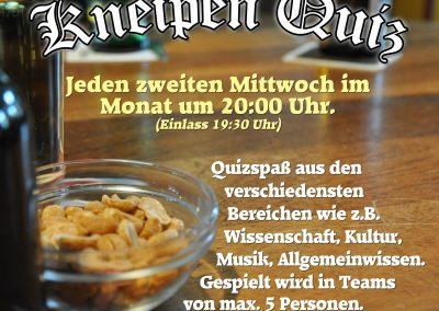 <b>12.12.2018</b><br>20:00 Uhr<br><b>Komplex Kneipenquiz</b>