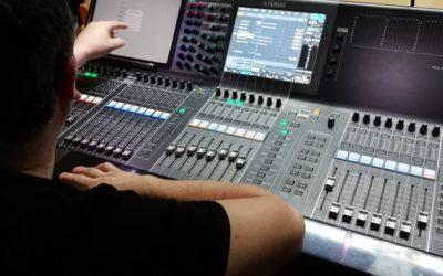 Neue Veranstaltungstechnik im Komplex – Digitales Mischpult Yamaha CL5