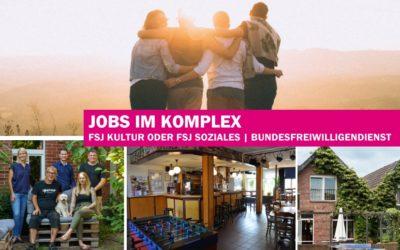 Jobangebote: FSJ Kultur / FSJ Soziales und Bundesfreiwilligendienst