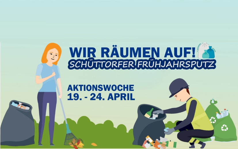"""Müllaktion """"Wir räumen auf"""" im April"""