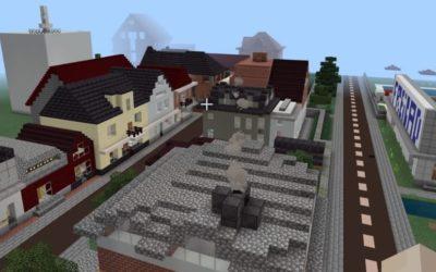 Schüttorf wird in Minecraft nachgebaut – weitere SpielerInnen willkommen